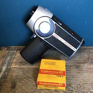 Eumig Viennette Super 8 Camera Working With Defects! Prop Indie Film, Speed Gun?