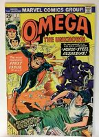Omega The Unknown #1 Marvel 1976 VF- Bronze Age Comic Book Key Issue 1st Appeara