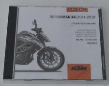 KTM 125 Duke duke 125 Reparaturanleitung Repair Manuel CD 12-