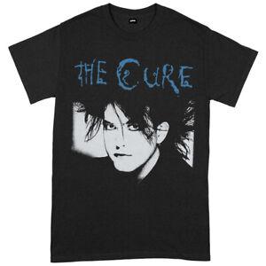The Cure 'Black & Blue' (Noir) T-Shirt - OFFICIEL!