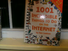 1001 Incredible Things to Do on the Internet by Ken Leebow (2001, Paperback)