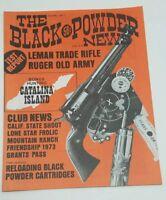 The Black Powder News Magazine Vol 1 No 1 June 1974 Gun Firearm Collectible rare