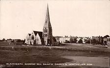 Blackheath. All Saints Church & Montpelier Row by Daniell Bros.