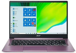 "Acer Swift 3 14"" 1080p AMD Ryzen 5 4500U 4.0GHz 256GB SSD 8GB RAM Webcam Purple"