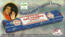 GENUINE - NAG CHAMPA INCENSE STICKS -15g -BEST SELLER- BOX OF 12 ( FULL BOX )