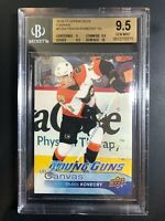 2016-17 Travis Konecny Young Guns Canvas Rookie BGS 9.5 with 10