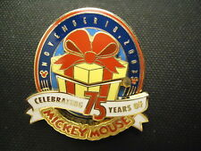 DISNEY WDW CAST EXCLUSIVE MICKEY'S 75TH BIRTHDAY HINGED PIN