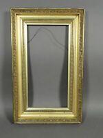 """Antique Gold Leaf Gilt Picture Art Frame Hudson River School c.1850 (20"""" x 10"""")"""