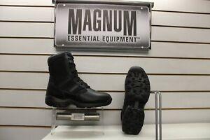 Magnum Panther 8.0 Black Leather Uniform / Duty Boots UK 9 EU 43 Police
