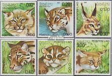 Laos 517-522 (complete issue) unmounted mint / never hinged 1981 Cats