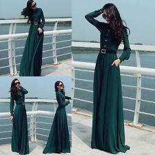 Polyester Cowl Neck Regular Size Maxi Dresses for Women