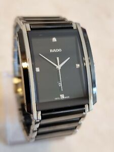 Rado Integral Ceramic & Diamonds Men's Watch Ref.212.0206.3