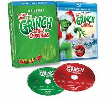 Dr. Seuss' How the Grinch Stole Christmas Blu-ray (Grinchmas Edition) Deluxe