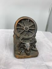 """'The West' by Dodge Inc. Bronzed Bookend 5"""""""