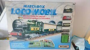Rare 1991 Matchbox Loco-Mobil Train Playset Complete Great Condition Read Descr