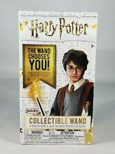 Harry Potter Collectible Mystery Mini Wand 4 inch Die Cast Wand with Stand Jakks