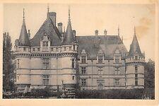 B38761 Chateau D Azay le Rideau Facade Est  france