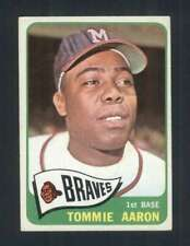 New listing 1965 Topps #567 Tommie Aaron VGEX Braves 111157