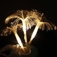 2.5M 10LED Fiber Optic Trumpet Flower LED String Light Xmas Wedding Party Decor