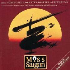 OST - MISS SAIGON (QS STUTTGARTER.AUFFÜ.)  CD 16 TRACKS MUSICAL SOUNDTRACK NEW+