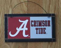 Alabama Crimson Tide University College Licensed Wood Sign Sport Team Unique