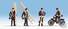 N36052 Noch N Scale Chimney Sweeps (4) & Accessories