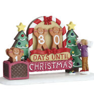 Lemax GINGERBREAD COUNTDOWN CALENDAR-Holiday Village Accent