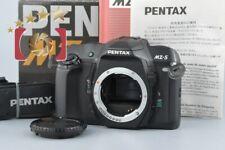 Excellent!! Pentax MZ-S Black 35mm SLR Film Camera