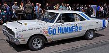 Go Hummer 1968 Dodge Dart 1/25th scale model car decal