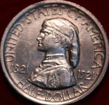 1921 Philadelphia Mint Missouri Centennial Silver Comm Half