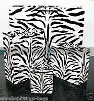Paper Bags ZEBRA High Quality Accessories Birthday Gift Jewellery Rope Handle