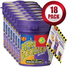 18 Pack BEAN BOOZLED Mystery Bean Dispenser 3.5oz by Jelly Belly Candy Challange