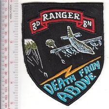 Ranger US Army 75th Airborne Infantry Regiment Airborne 3rd Ranger Battalion Sua
