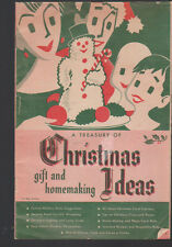 Treasury Of Gift Homemaking Christmas Ideas Booklet Rochester Gas Electric