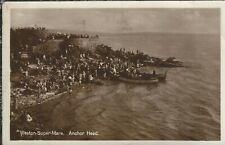 Weston-super-Mare Anchor Head  boats 1927 Real Photograph
