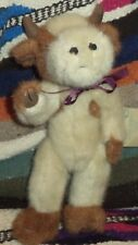 J. B. Bean Boyds stuffed cow animal toy