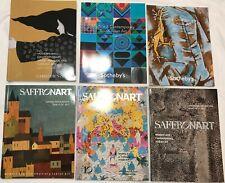 6 Modern & Contemporary Art catalogs - Sotheby's, Christie's  Saffronart 2011