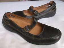 Naturalizer Juliana Women's Brown Leather Mary Jane Flats 8M