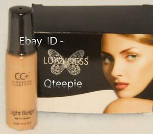 LUMINESS AIR - FLAWLESS & GORGEOUS Light BEIGE CC+ Airbrush CONCEALER .55 oz NEW