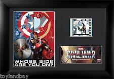 Film Cell Genuine 35mm Framed & Matted Captain America Civil War S6 USFC6310