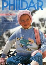 Phildar Children's Winter Knitting Pattern Book No. 153 ~ 39 Designs to Knit!