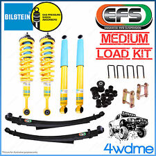 "Mitsubishi Triton ML MN Bilstein B6 EFS Leaf Spring Medium COMPLETE 2"" Lift Kit"