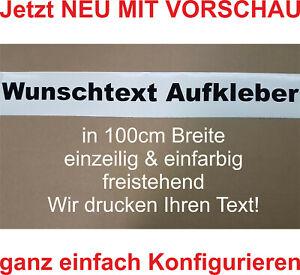 Wunschtext Aufkleber Auto Domain Beschriftung Schriftzug Cartattoo bis 100cm