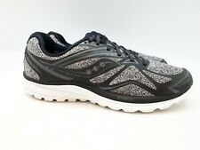 Saucony Men's Running Shoe: Ride 9 LR | Size 11 | Grey / Black (SH84)
