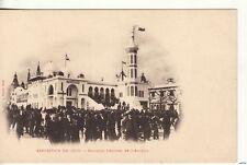 EXPO   Exposition de 1900 -- Pavillon Officiel de l'Algerie  postcard