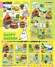 Japan New Re-ment Miniatures Moomin Happy Garden rement Full set of 8