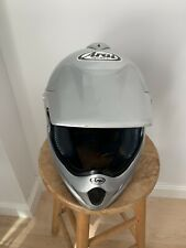 ARAI VX Pro Motocross Helmet, All Silver, (Size Medium) Very Good Condition!