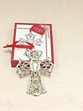 Lenox    HOLIDAY -CHRISTMAS ornement 1/cross-heart /red box