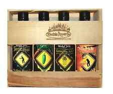 Habanero Hot Sauce Gift Set Jalapeño Garlic 4 Pack Wicked Tickle Sweet Heat