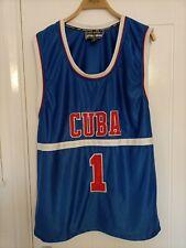 New listing CUBA BASKETBALL JERSEY XXXL SIZE 44 INCH CHEST STEVE & BARRYS ATHLETIC DEPT MAKE